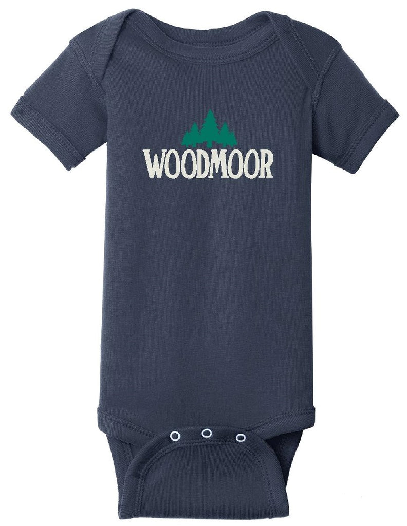 Woodmoor Navy Blue Onesie