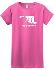 MoCo Strong Softstyle Ladies' T-Shirt (State)
