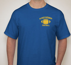 Blessed Sacrament Royal Blue Football Tee