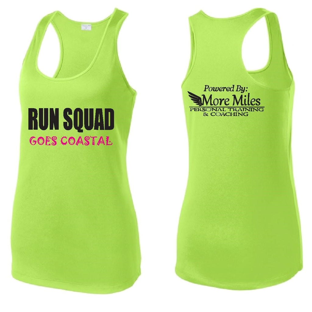 Run Squad Ladies Racerback Tank