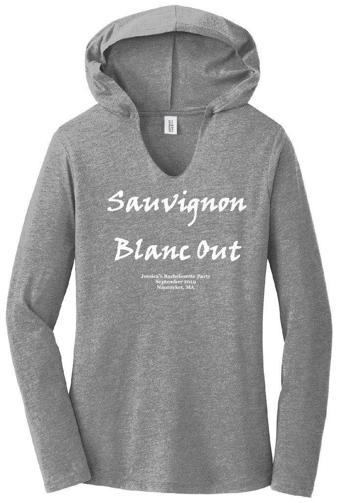 Sauvignon Blanc Out Perfect Tri Long Sleeve Hoodie