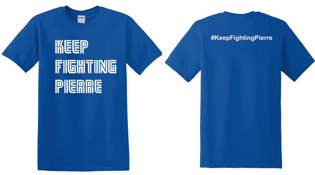 Keep Fighting Pierre Short Sleeve Tee
