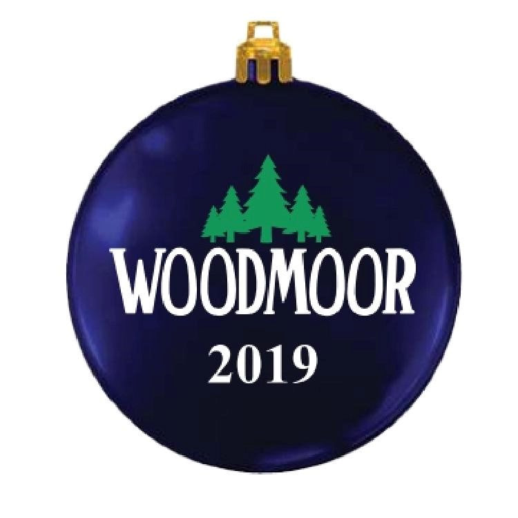 2019 Woodmoor Flat Ornament