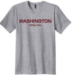 Grey Washington Football Team Shirt