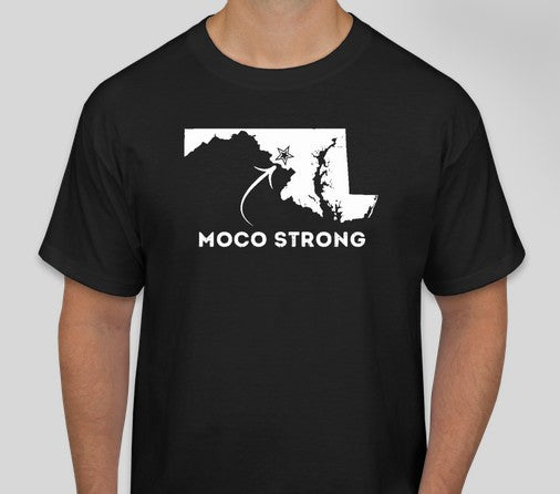 MoCo Strong Black Short Sleeve Tee