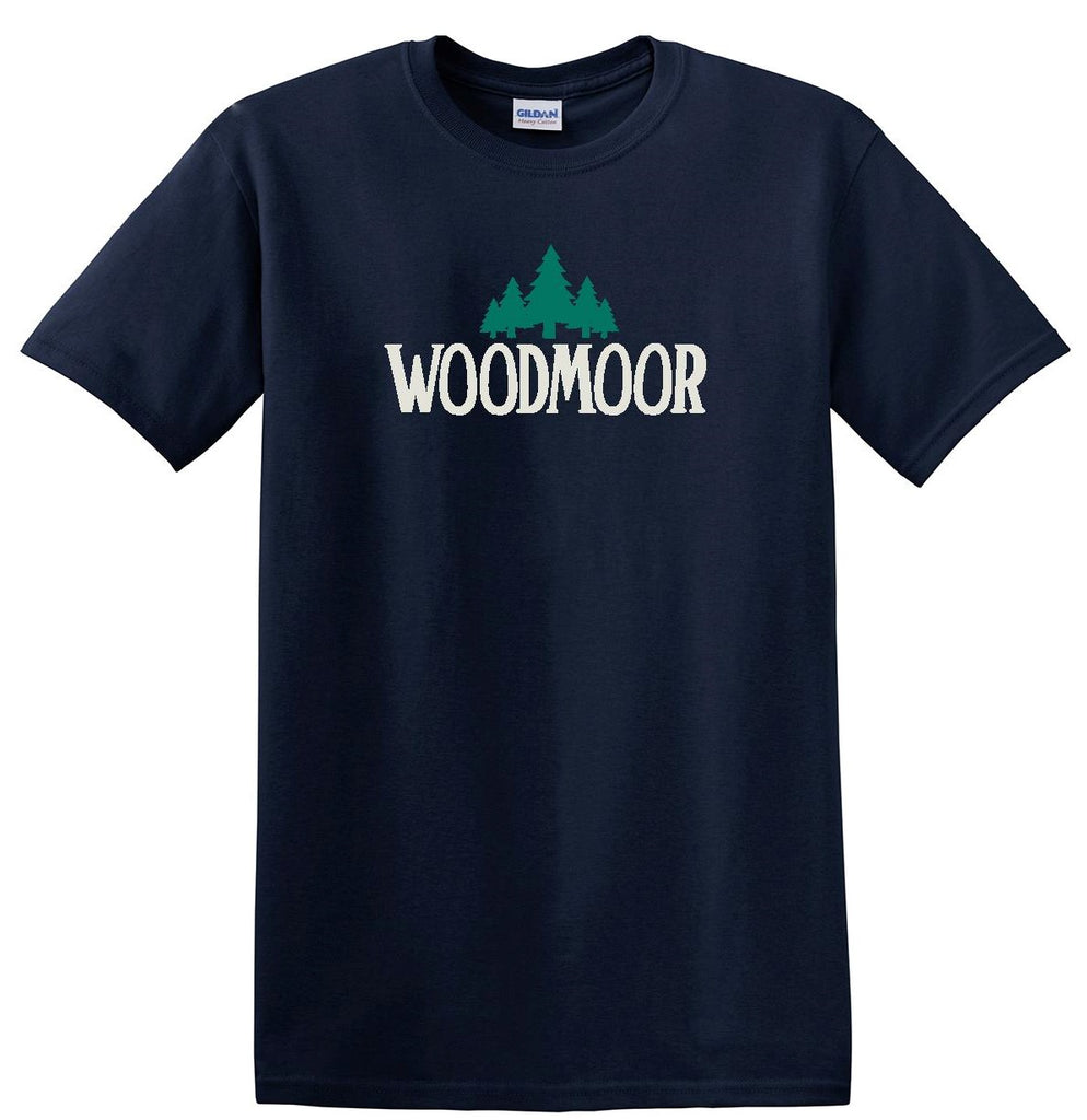 Woodmoor Short Sleeve Navy Blue Tee
