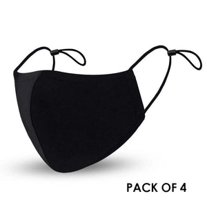 Adjustable Face Mask Pack of 4