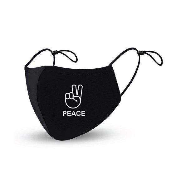 Peace  Face Mask