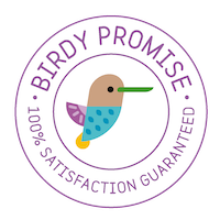 Birdy promise: 100% satisfaction guaranteed