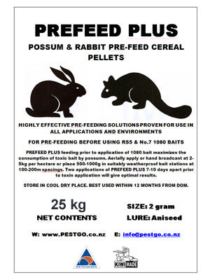 Pre Feed Plus Pellets (25kg)