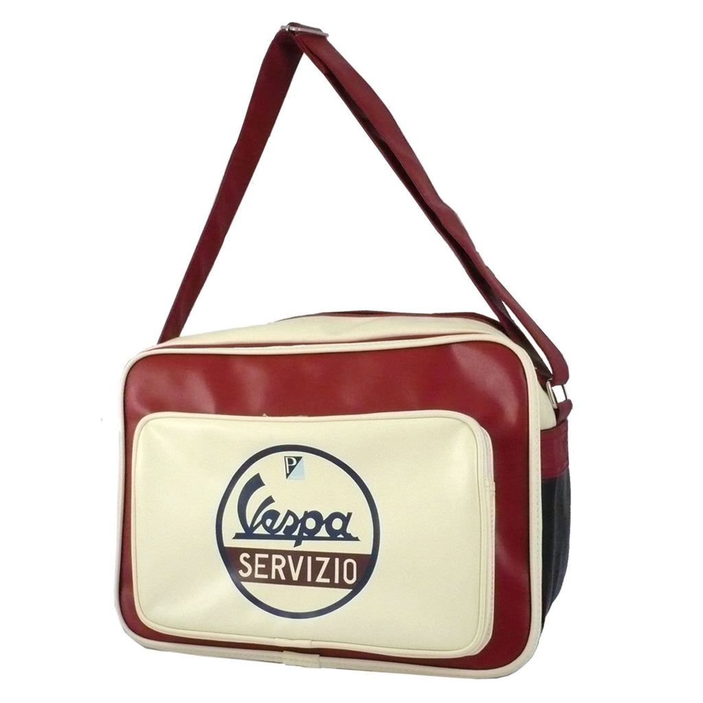 Vespa Eco-Leather Shoulder Bag (Horizontal)