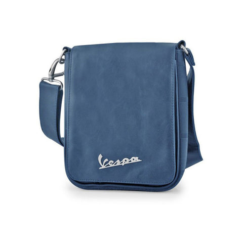 Vespa Logo Small Messenger Shoulder Bag