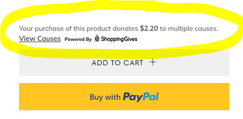 5% donated to mental health advocacy programs