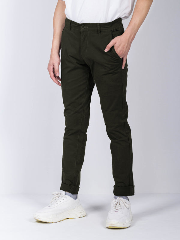 Long Pants Slim Fit - Dark Green