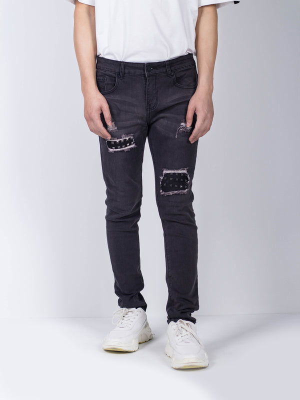 Fashion Long Pants - Dark Grey