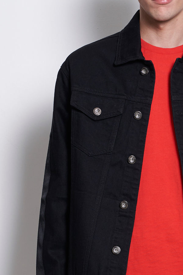 Comfort Denim Jacket - Black