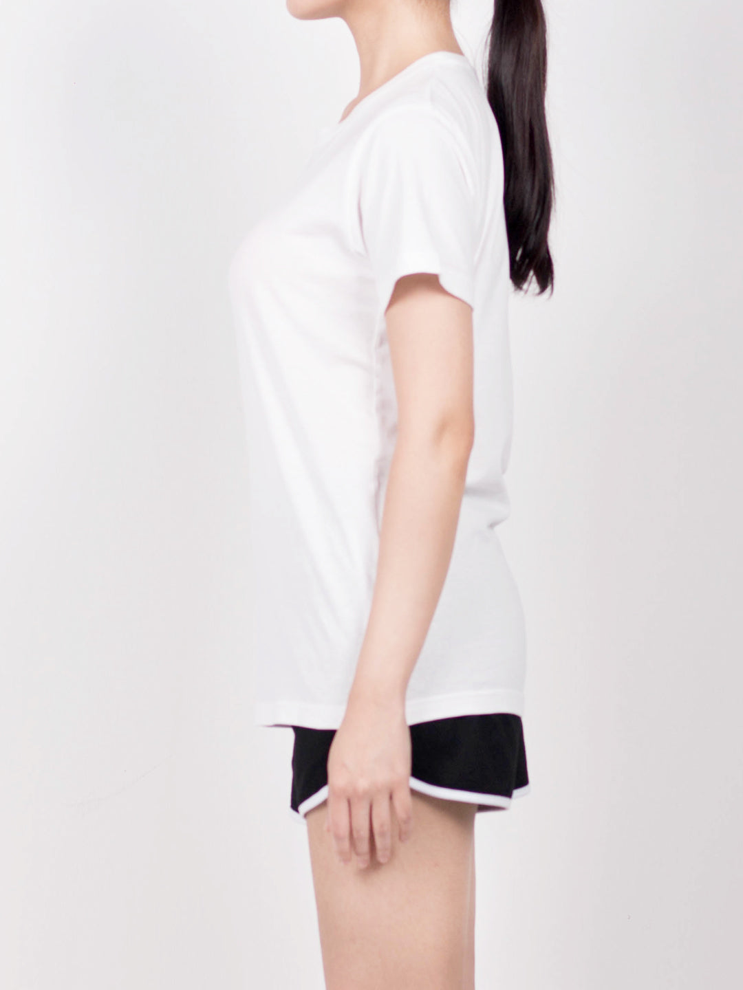 Women Short Sleeve T-Shirt - White
