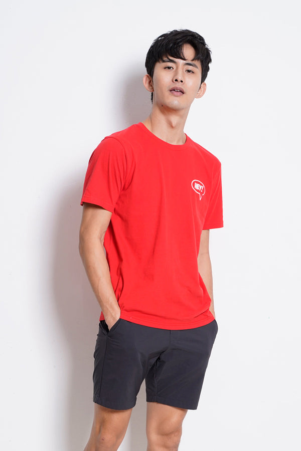 Graphic Short Sleeve T-Shirt - Red