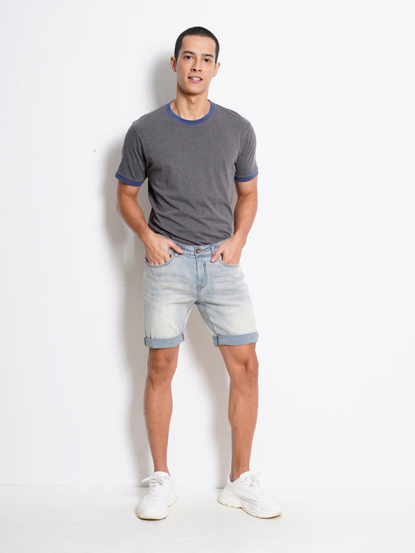 Short Jeans - Light Blue