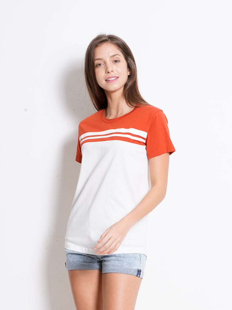 Graphic Short Sleeve T-Shirt - Brown