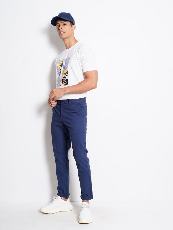 Long Pants Slim Fit - Dark Blue