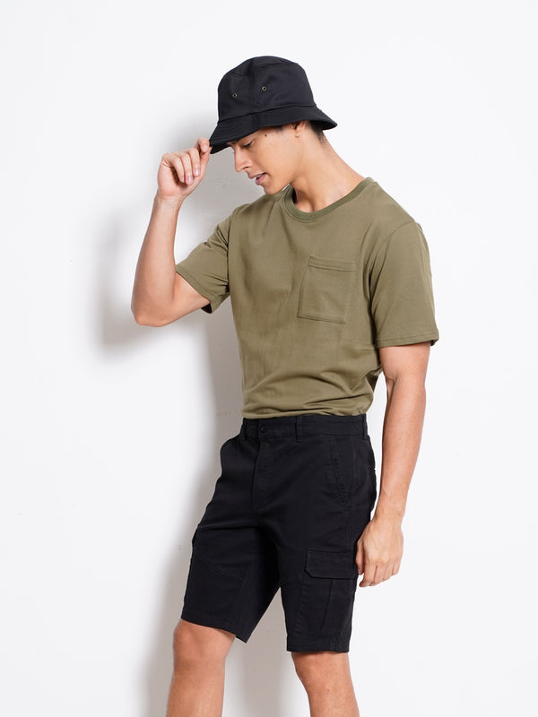 Short Pants Cargo - Black