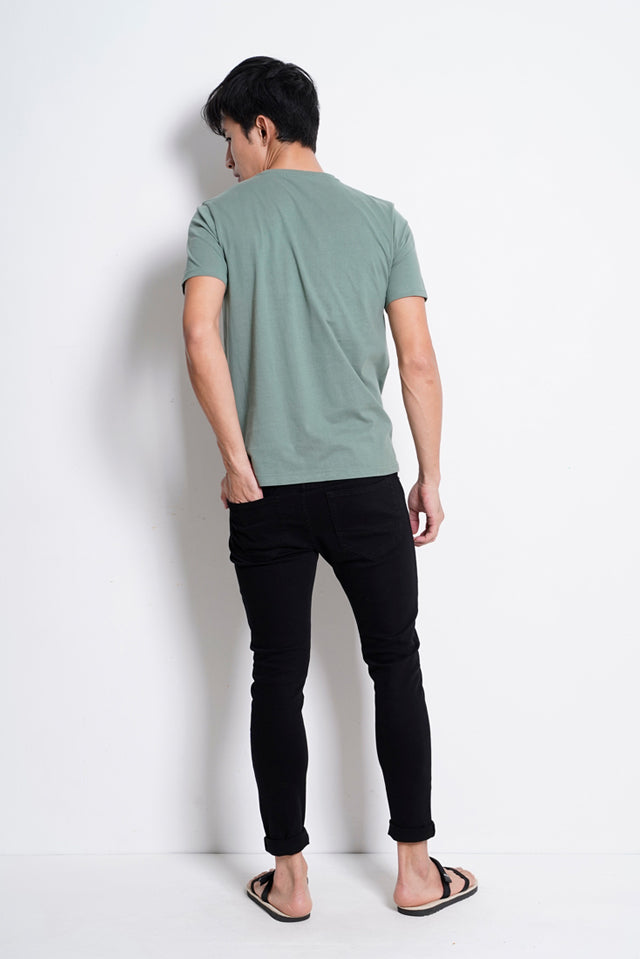 Graphic Short Sleeve T-Shirt - Green