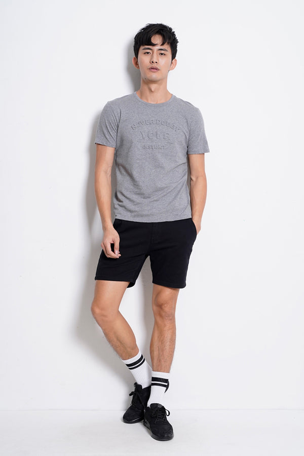 Graphic Short Sleeve T-Shirt - Dark Grey