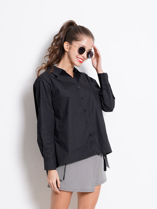 Long Sleeve Shirt - Black