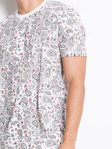 Graphic Short Sleeve T-Shirt - White