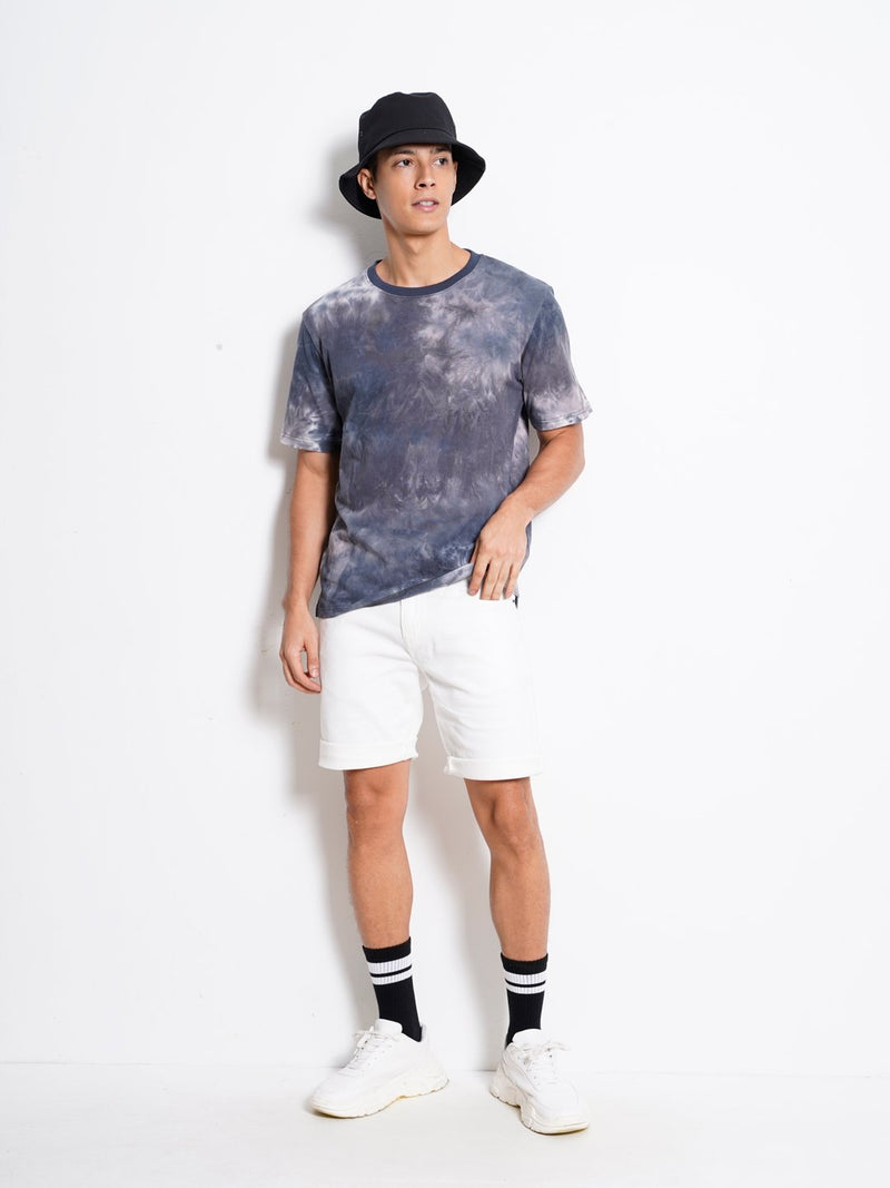 Short Sleeve Fashion Tee - Khaki