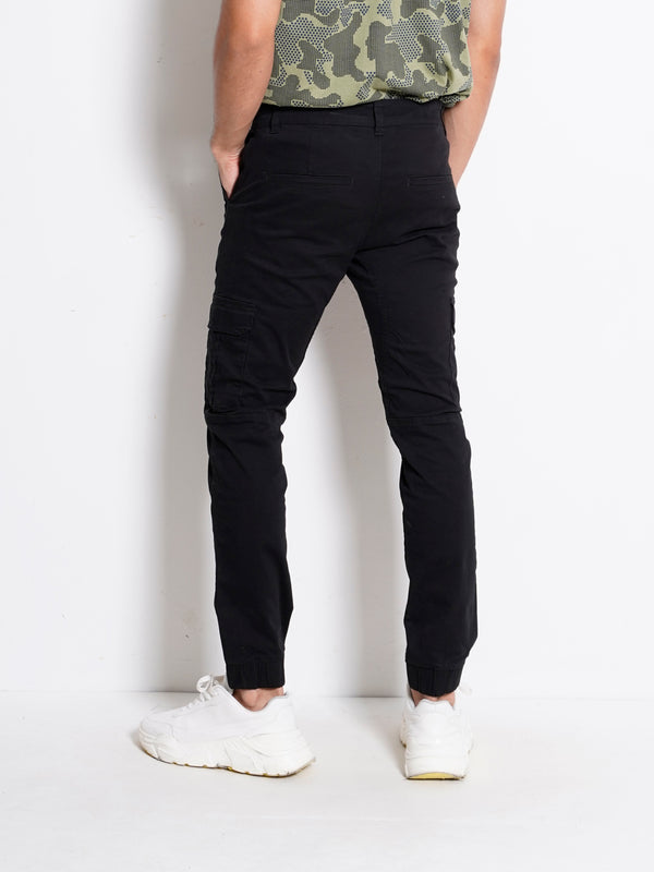 Long Pants Cargo - Black