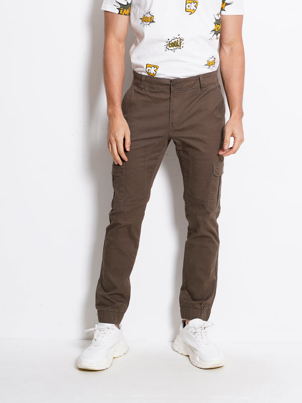 Long Pants Cargo - Dark Green