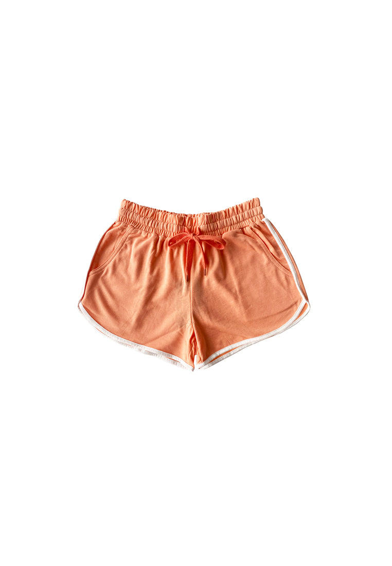 Women Short Jogger  - Light Orange - YCS1F2706