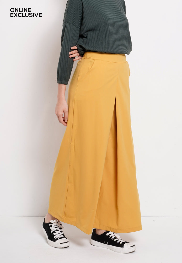 Women Long Pants  - Yellow - PFM1F2831