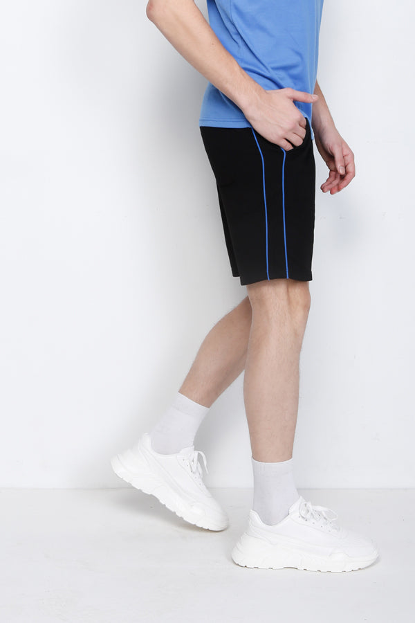 Knit Short Jogger - Black