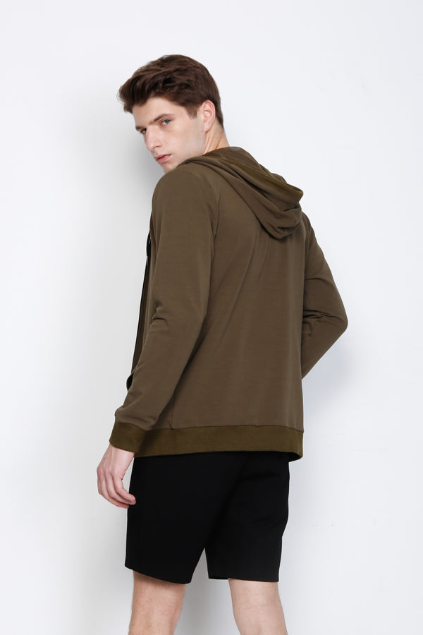 Hoodie Sweater - Dark Green