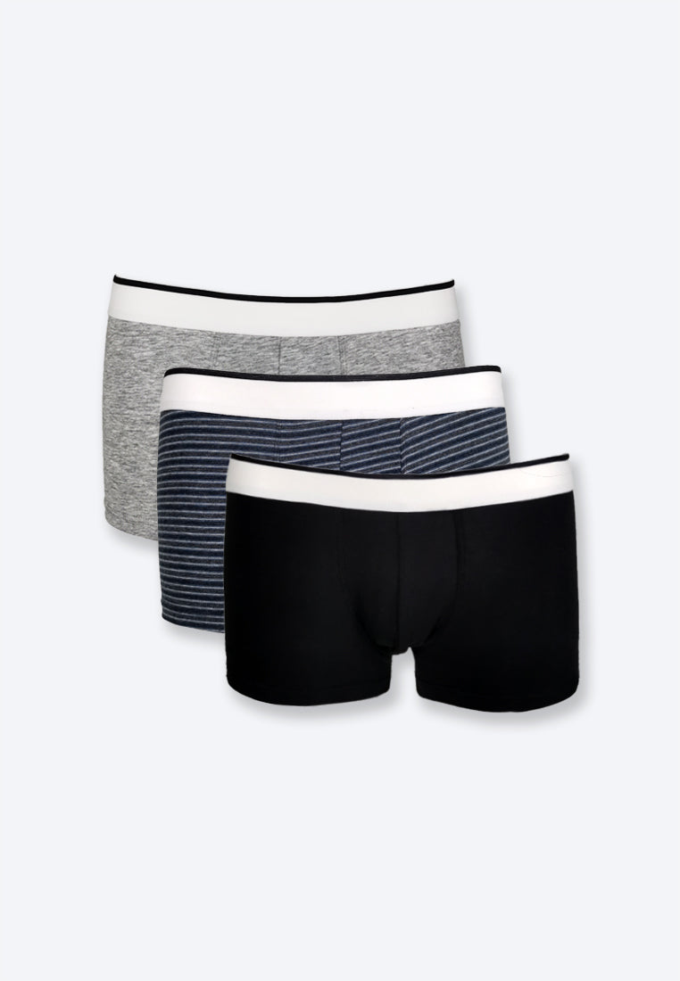 Men Trunks 3-Pack Set