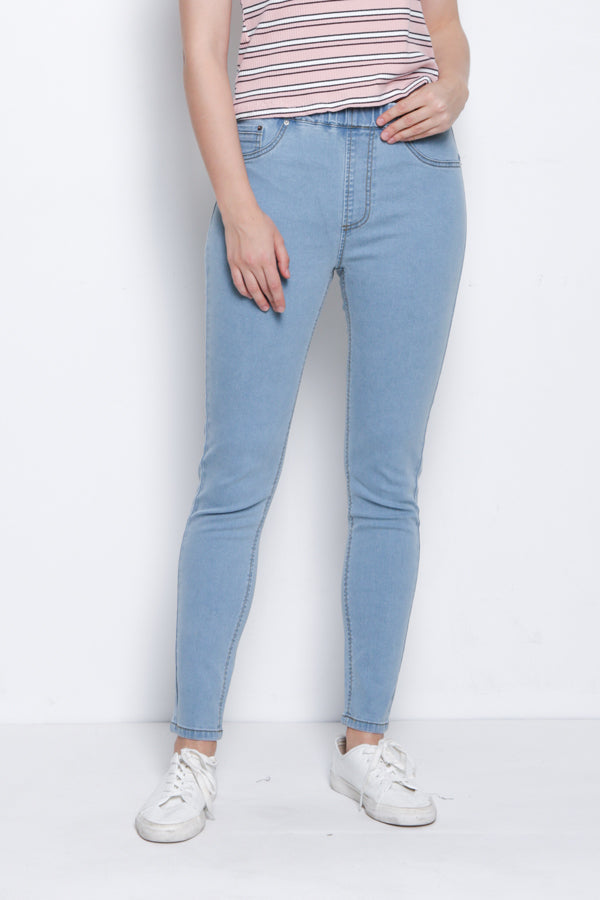 Slim Fit Jegging - Light Blue