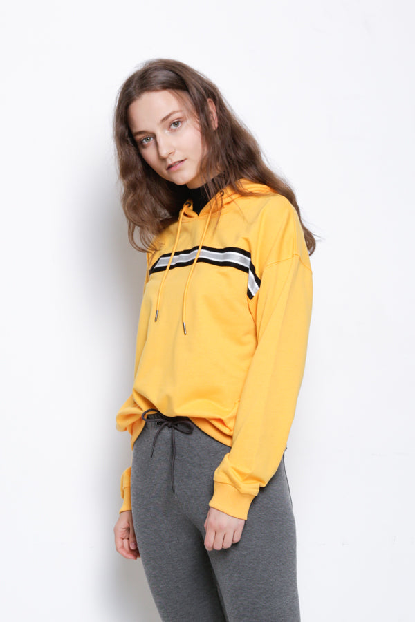 Hoodie Pullover - Yellow