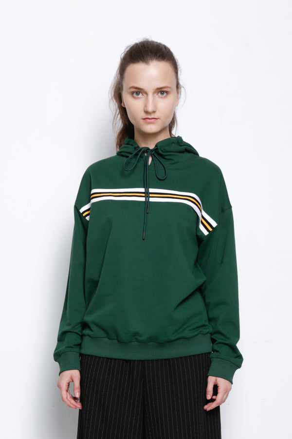 Hoodie Pullover - Green