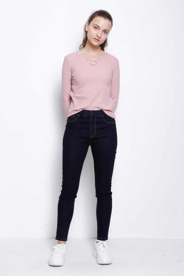 Slim Fit Jegging - Dark Blue