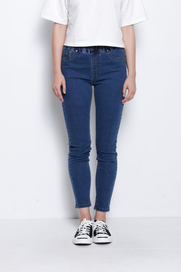 Slim Fit Jegging - Blue