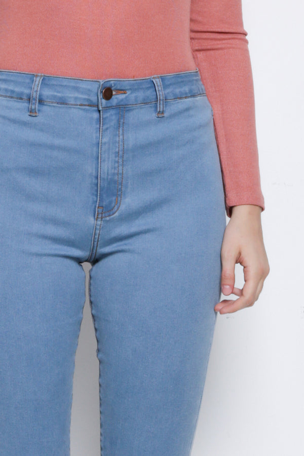Skinny Long Jeans - Blue