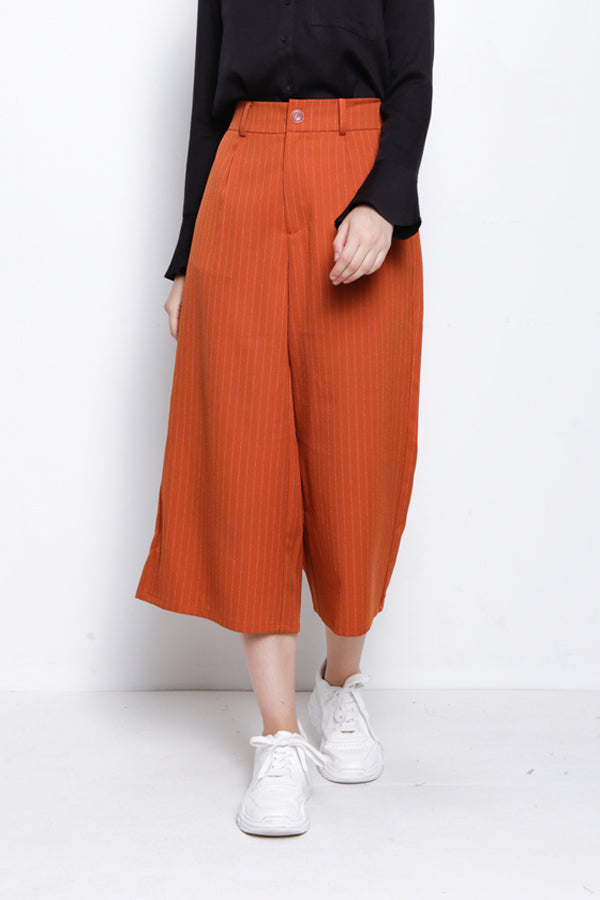 Woven Culotte - Dark Orange