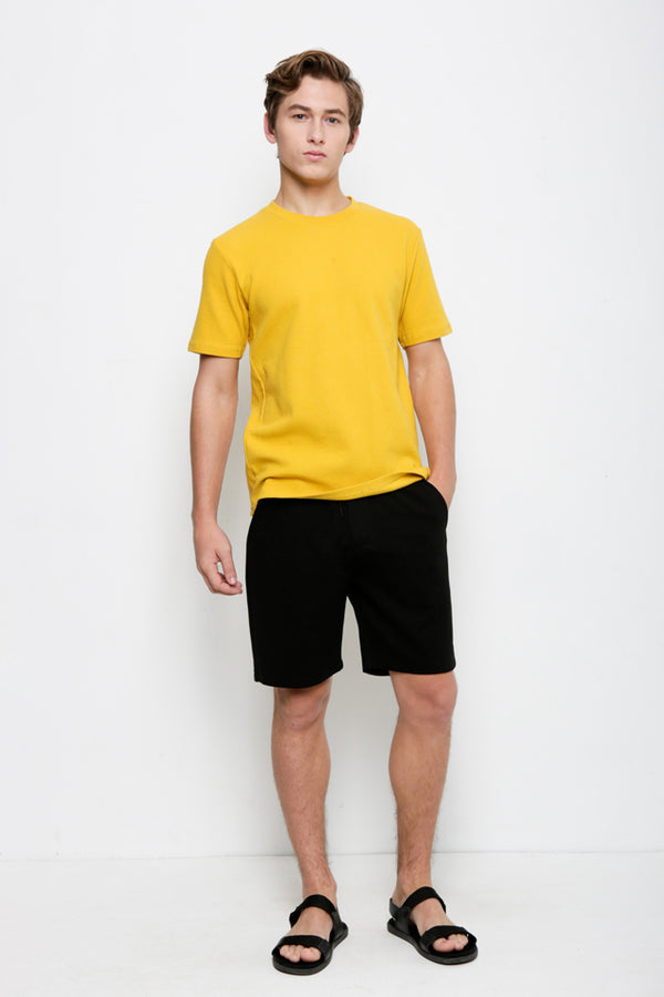 Trend Short Sleeve Tee - Yellow