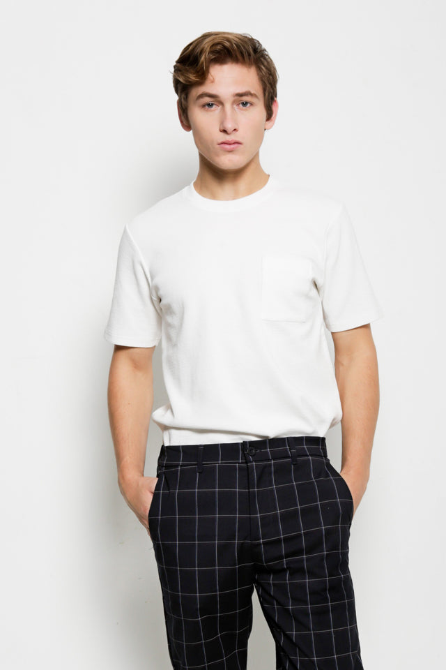 Trend Short Sleeve Tee - Off White