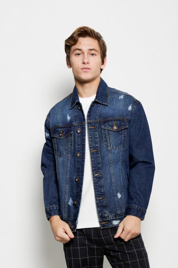 Vintage Denim Jacket - Blue