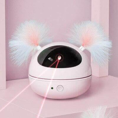 Roly-Poly 360 Laser Robot Cat Toy - KittyNook