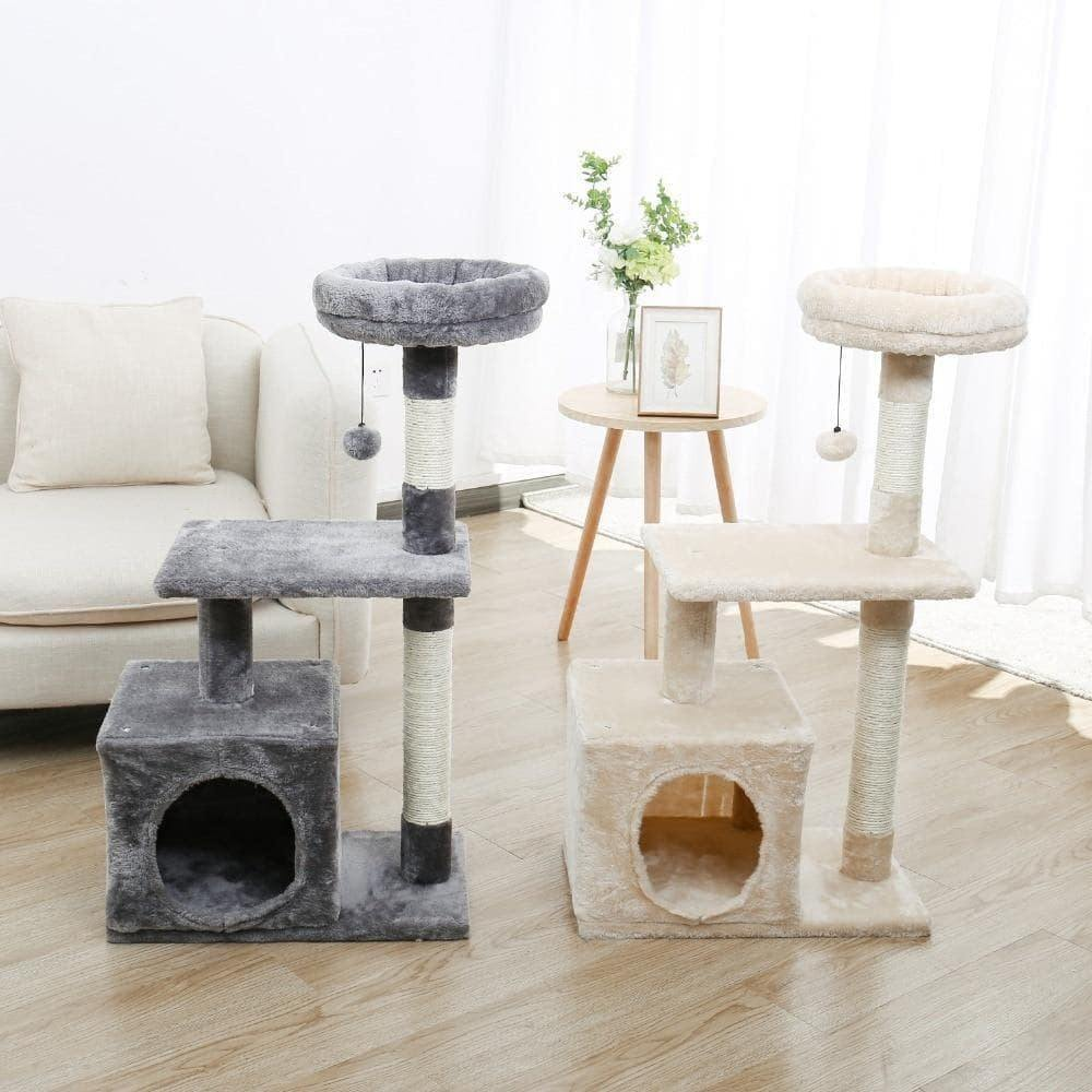Multi-Level Cat Condo for Large Cats - KittyNook